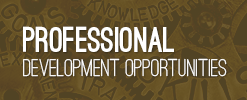 Professional Development Opportunities Events Link